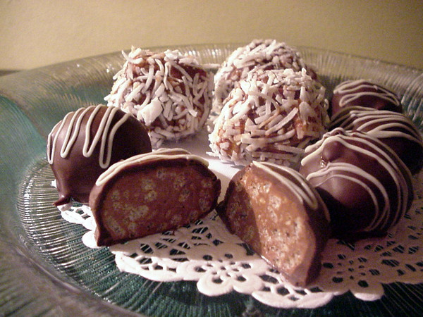 chocolate cake balls recipe. Home Cookin Chapter: Recipes